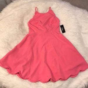 Lulus Scallop Dress